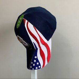 Patriotic Cap Hat USA America Flag Eagle unisex